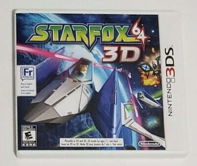 Star Fox 64 3D (Nintendo 3DS, 2011)