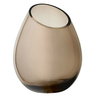 Drop Vase 24 cm Coffee Blomus