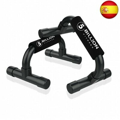 5BILLION Soporte para Flexiones Push Up Bars Stand - Gimnasio en casa  (Negro)