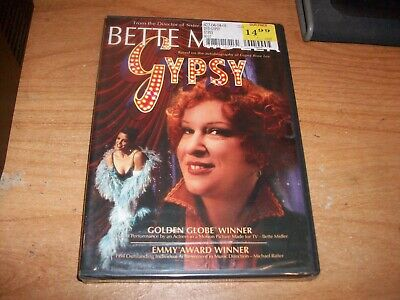Gypsy (DVD Movie, 2005) Bette Midler Autobiography of Gypsy Rose Lee NEW