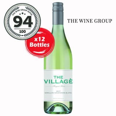 2017 The Village Margaret River Semillon Sauvignon Blanc (12 Bottles)