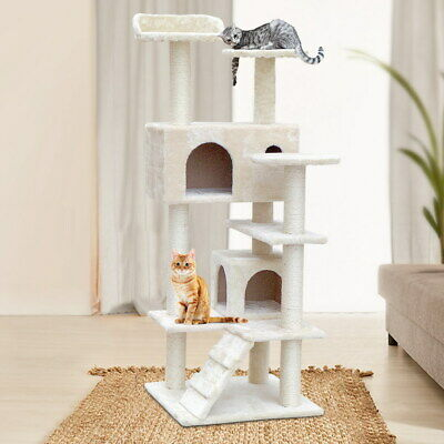 iPet Cat Tree Scratching Post Condo Scratcher Tower Play Trees House Furniture