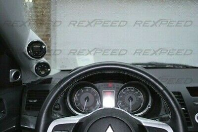 REXPEED ABS LHD Double Pillar Pod for MITSUBISHI EVO X