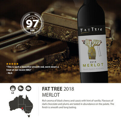 2018 Fat Tree Merlot (12 Bottles)