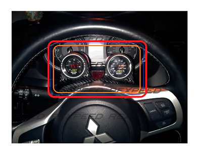 REXPEED Steering Wheel Carbon Double Pod for MITSUBISHI EVO X