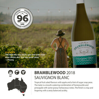 2018 Bramblewood Sauvignon Blanc Mornington (12 Bottles)