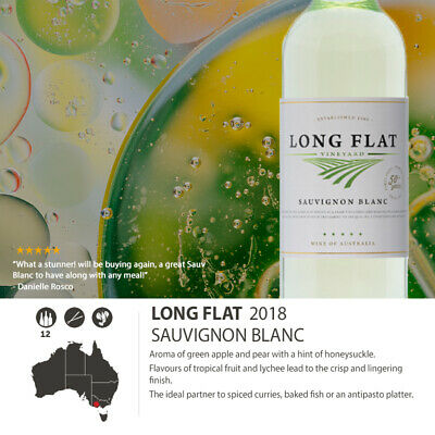 2018 Long Flat Vineyard Sauvignon Blanc (12 Bottles)