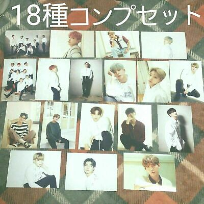 ATEEZ JAPAN official photocard photo Card Set of 18 lot complete full set