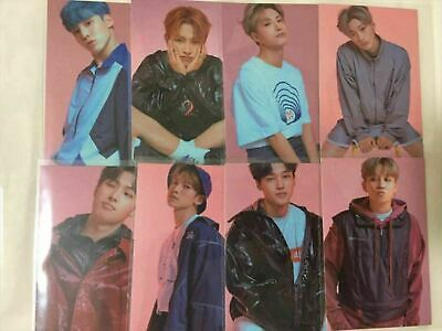 ATEEZ Illusion ver TREASURE EP.3 photo card jp edition all member set of 8 lot