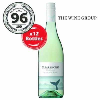2019 Clear shores Sauvignon Blanc (12 Bottles)