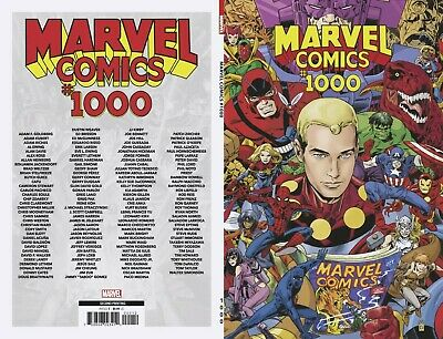 Marvel Comics #1000 2Nd Ptg Print Buckingham Marvel Comics 10/2/2019 Eb81