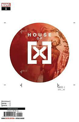 House Of X #1 (Of 6) 4Th Print Ptg Larraz Variant Marvel Comics 10/2/2019 Eb81