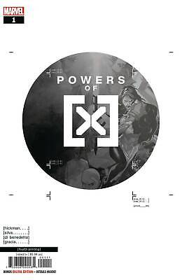 Powers Of X #1 (Of 6) 4Th Print Ptg Silva Variant Marvel Comics 10/2/2019 Eb81