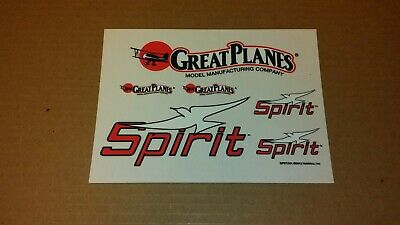 Great Planes Piper Cub 60 Size Airplane Decal Sheets OEM NEW CUB6D01 CUB6D02