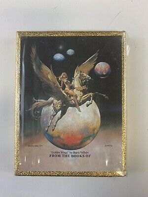 Vintage Antioch Publishing Bookplates Set Golden Wings Boris Vallejo Book Plate