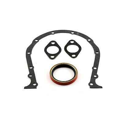 """Chevy BBC 454 1966-00 Blue 3//16/"""" Thick Rubber Steel Core Valve Cover Gasket Set"""