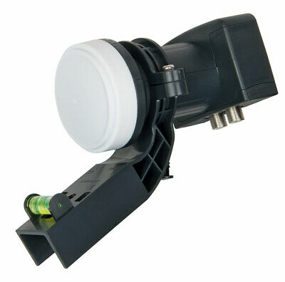 Visiblewave Universal Twin LNB 2 Output Mini Dish for Freesat™ Sky™ with PLL