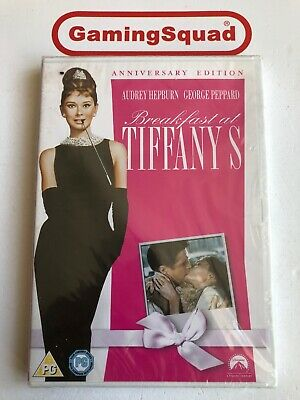Breakfast at Tiffanys (Anniversary) NEW DVD, Supplied by Gaming Squad