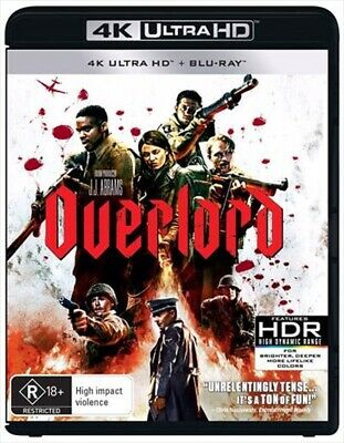 Overlord : NEW 4K UHD Blu-Ray
