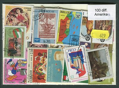 Americas 100 Stamps (629)