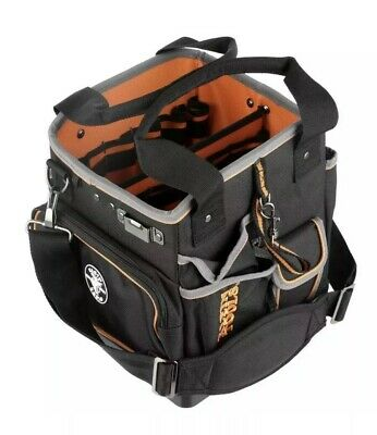 Klein Tools Tool Tote Organizer Shoulder Strap Bag Storage 40 Pockets Pouch New