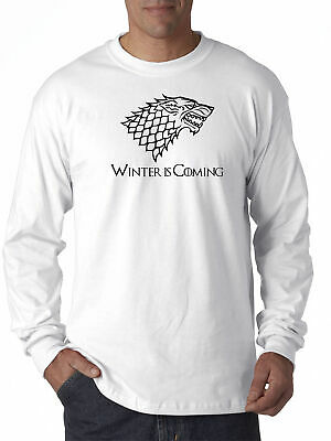 New Way 1216 - Long-Sleeve T-Shirt Winter Is Coming Stark Sigil Game Of Thrones