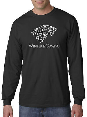 New Way 1217 - Long-Sleeve T-Shirt Winter Is Coming Stark Sigil Game Of Thrones