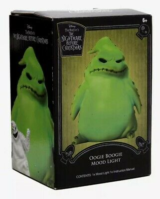 Disney The Nightmare Before Christmas Oogie Boogie LED Desk Light Mood Lamp