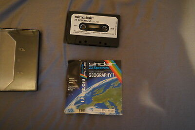 Sinclair ZX Spectrum - Sinclair Research - Geography - Free UK Postage