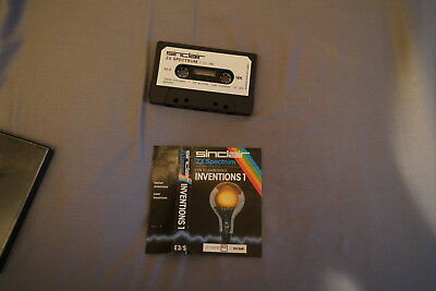 Sinclair ZX Spectrum - Sinclair Research - Inventions 1 - Free UK Postage