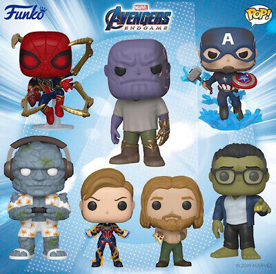 Funko Pop! Avengers Endgame Captain America with Broken Shield (PRE-ORDER)