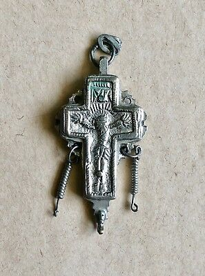 A Post-Byzantine Reliquary Silver Cross. A Marvelous Piece Of Art!