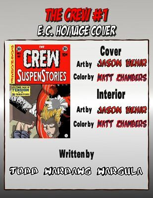 The Crew #1 E.C. Homage VARIANT KICKSTARTER SOLD OUT 1ST PRINT Wargula EB81