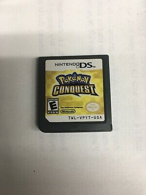Pokemon Conquest (Nintendo DS, 2012)Game Only