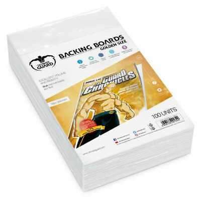 Golden Size Protects Comic Back (White) 193X266mm Ultimate Guard 100 Units New