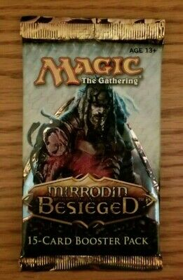 Magic The Gathering (MTG) Mirrodin Besieged Booster Pack Sealed