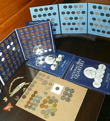 OLD US MIXED COIN LOT SILVER BULLION ESTATE COLLECTION JUNK DRAWER  make offer