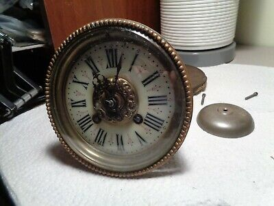 Antique-French-Clock Movement-Ca.1890-To Restore-#T855