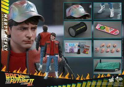 Back To The Future Hot Toys Part II MARTY MCFLY 1:6 Scale Action Figure