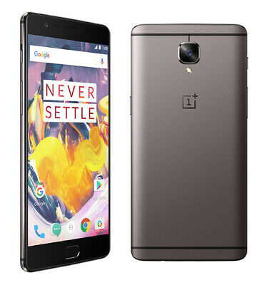 OnePlus 3T A3003 64GB Silver (Unlocked GSM) Android 4G LTE Smartphone USED