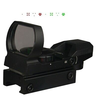 Holographic Reflex Dot Sight Weaver Mount Red and Green Illumnated