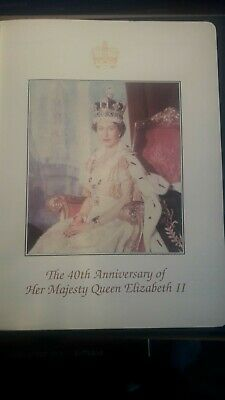 BC1}1993 COLLECTION IN ALBUM  CORONATION 40th ANNIVERSARY  STAMPS MNH 1953-1993
