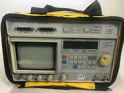 Promax TV and Sat level meter prolink - 7