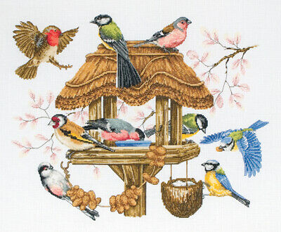 Anchor ~ Counted Cross Stitch Kit ~ Premier Bird Table ~ APC942