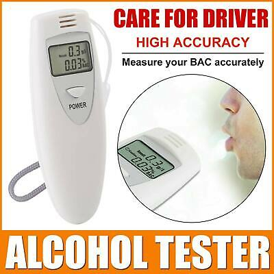 Professional Digital Alcohol Breath Tester Analyzer Breathalyzer Police Accurate
