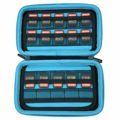 Game Card Storage Holder Case Nintendo Switch Cartridges SD Memory Card Holds