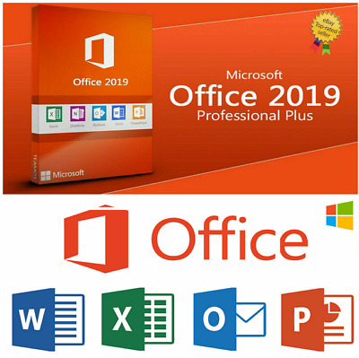 Microsoft Office 2019 PRO Plus Official License Key FOR 1 PC