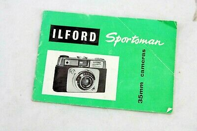 Ilford Sportsman  instructions manual