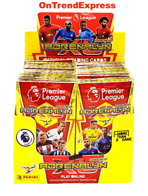 2019 2020 PANINI Adrenalyn XL Premier League Soccer Trading Cards Box 50 Packs