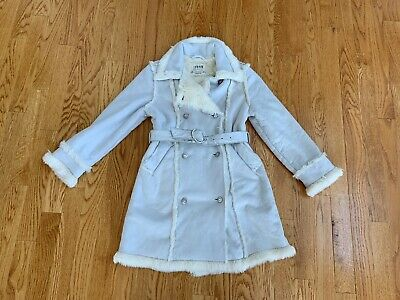 The Childrens Place Girls Long Coat Size S 5/6